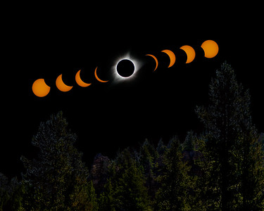 Total Solar Eclipse - Sun Valley, Idaho - August 21, 2017