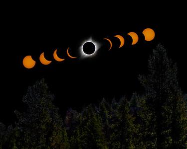 Total Solar Eclipse - Sun Valley, Idaho - August 21, 2017