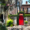 Red Door of Savannah