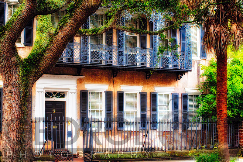 Charming Historic Southern Style House, Meeting Street, Charleston, South Carolina