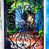 Traditional Southern Style Wrought Iron Gate, Charleston, South Carolina