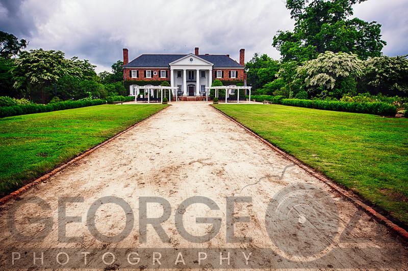 Manor Building of Boon Hall Plantation, Mount Pleasant, Charleston County, South Carolina