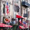 River Street Signs in Historic Savannah, Georgia