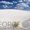 White Gypsum Sand Dunes, White Sands National Document, New Mexico