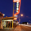 Neon Lights of the Aztec Motel, Rt 66, Albuquerque, New Mexico