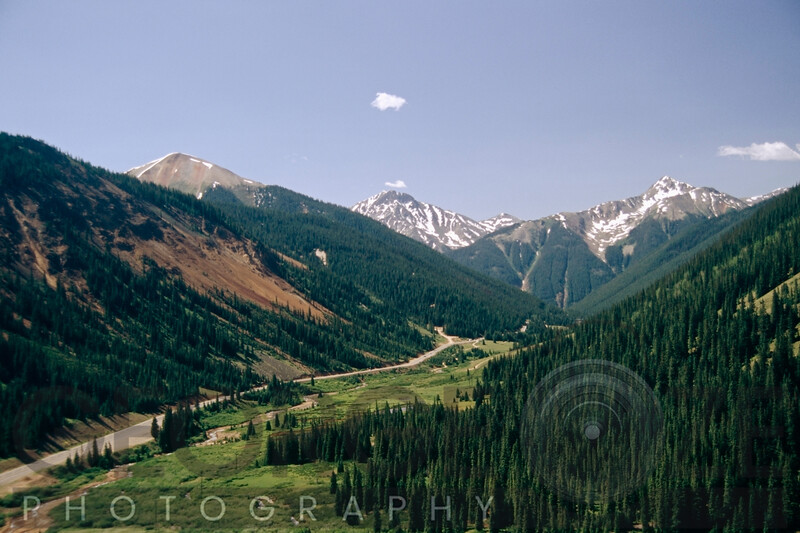 Road Leading To Telluride, Colorado
