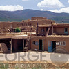 Multistory Adobe Building, Taos Pueblo, New Mexico