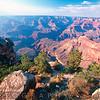 High Angle View from a Rock Ledge, Grand Canyon, Southern Rim, Arizona