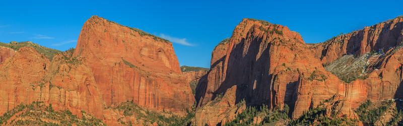 Kolob Canyon Panorama