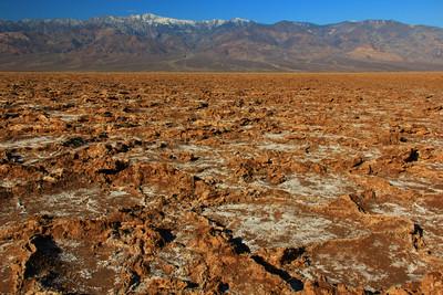 Badland craters