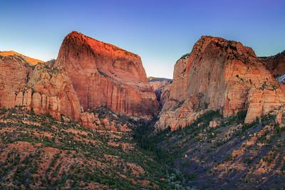 Kolob Canyon Twins
