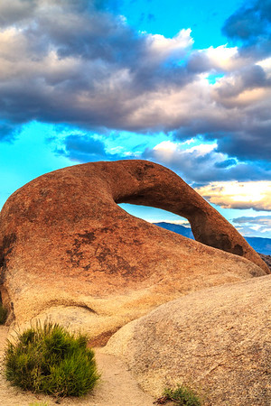 Storm Cloud over Mobius Arch