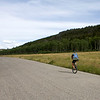 "Matt Burney unicycles the entire Great Divide Mountain Bike Route from Banff, Canada to the Mexican border to support the leukemia & lymphoma society.  <a href=""http://www.divideby1.com"">http://www.divideby1.com</a>  August 5, 2009"