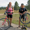 "Gracie Sorbello and Matt Burney (from Davis, CA) unicycle the entire Great Divide Mountain Bike Route (2745 miles) from Canada to Mexican border to support the Leukemia & Lymphoma Society. They rode for 68 days and rested only 9. It's awesome that they made it that far on a unicycle!  Congrads to both of them.  <a href=""http://www.divideby1.com"">http://www.divideby1.com</a> August 5, 2009"
