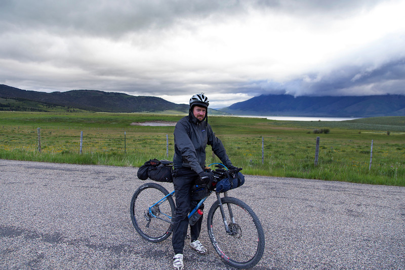 Liam Crowley is from Melbourne, Australia and is participating in the Tour Divide Bicycle Race for the first time. He is at the 1006 mile mark and is currently 6th in the race (out of 142). It is cold this morning. June 20, 2013