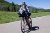 Michelle Dulieu of Rochester, NY is bringing up the rear, almost. One more behind her, but she's still determined to finish the Tour Divide bicycle race from Banff, AB, Canada to the Mexican border in Mexico! June 22nd, 2012.