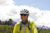 Kevin Greten from Sanibel Island, Florida on Red Rock Road in Idaho on his Tour Divide Race at mile 1008. June 15, 2012
