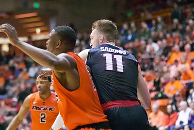 Gonzaga at Pacific 1-23-16