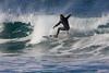 Surfer at Cape Kiwanda, Oregon. Oct 25, 2012