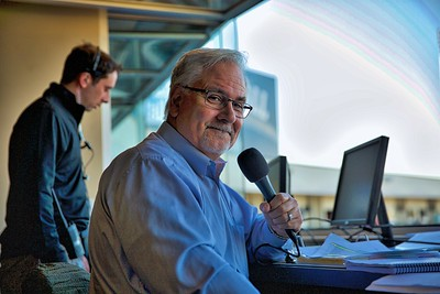 River Cats PA Announcer Mike Marando