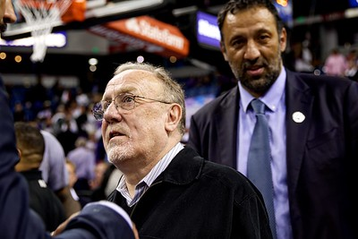 Rick Adelman and Vlade Divak