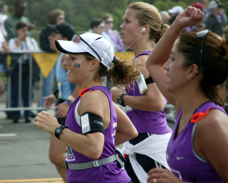 Group Effort: Women's Nike Marathon on October 22, 2006, San Francisco