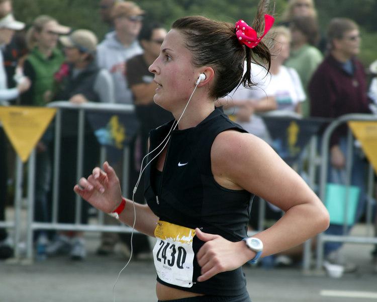 I know I can make it... Nike Women's Marathon, San Francisco, CA Oct 22, 2006