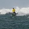 Finishing a wave