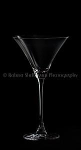 Low Key Martini Glass