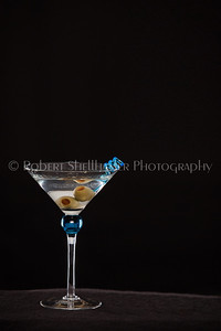 Martini on Black