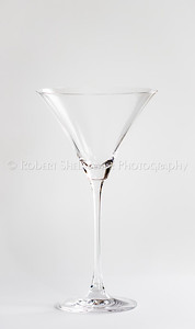High Key Martini Glass