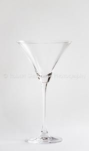 High Key Martini Glass