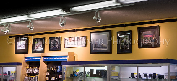 My display at Gene's Camera Store