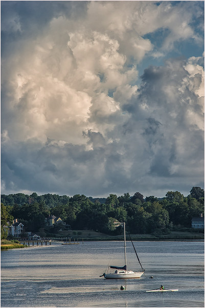 Stormy Sunday Morning On The Navesink River