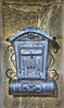 Antique Mailbox and Newspaper Holder