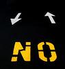 No Sense Of Direction Traffic Lines