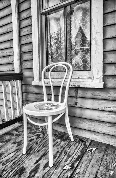 Old Porch In Autumn 2