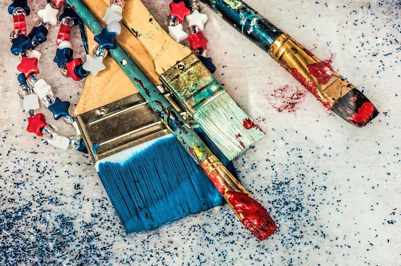 Tools of A Patriotic Artist