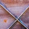 Shapes And Textures On Bunker Door