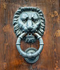 Lion Head Door Knocker Venice Italy