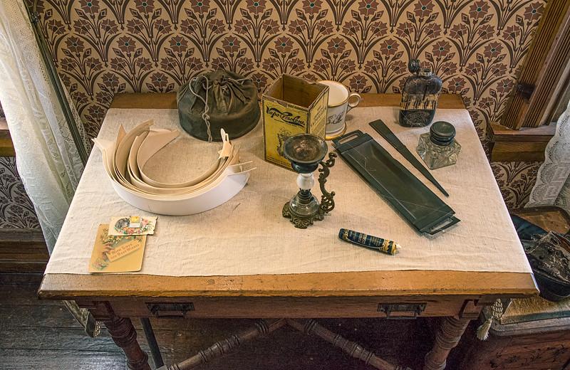 Vintage Gentlemen's Preparation Table
