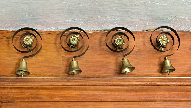 Antique Butler Bells