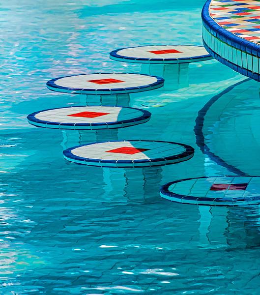 Geometry At The Pool Bar