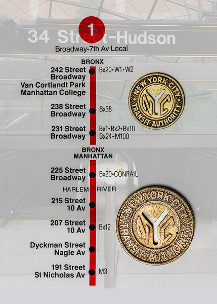 New York City Subway Tokens