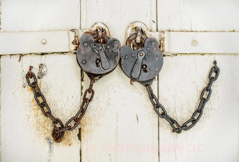 Two Old Locks In Love