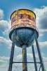 Abandoned Factory Water Tower