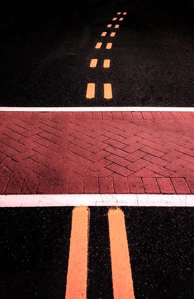 Crosswalk Conversion Of Traffic Lines