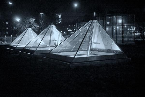 Metro Pyramids