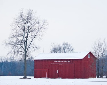 Three Rivers area barn