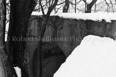 Culvert of the abandoned Big Four railroad off Redfield Road in Edwardsburg, MI